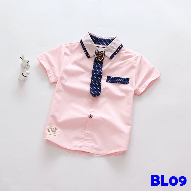 (BL09) Shirt - Light Pink