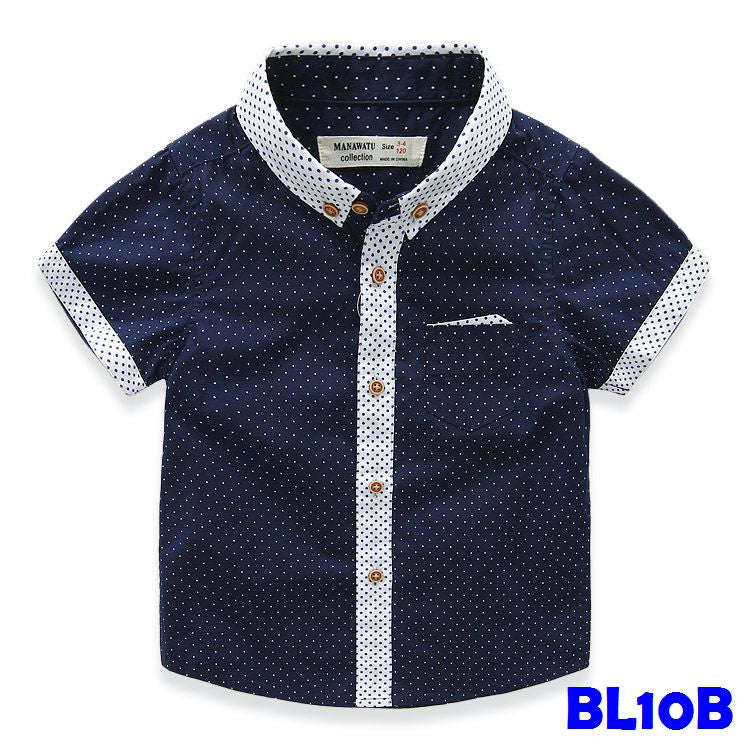 (BL10B) Shirt - Blue