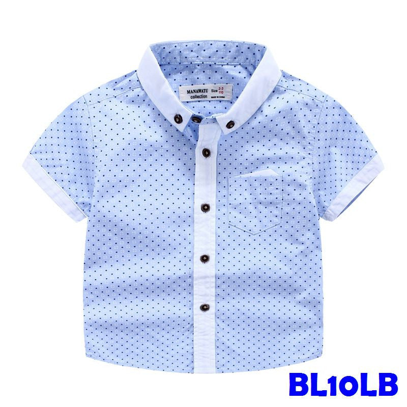 (BL10LB) Shirt - Light Blue