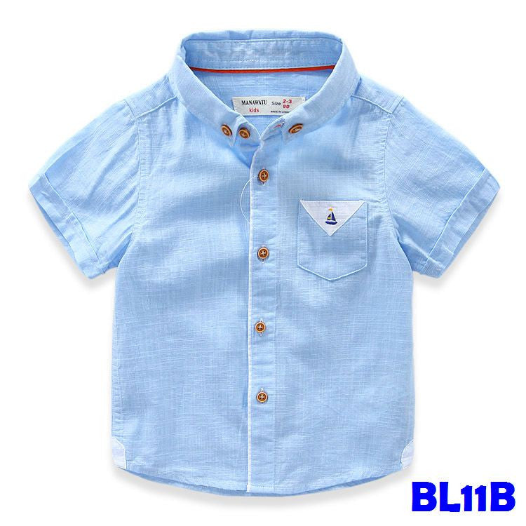 (BL11B) Shirt - Blue