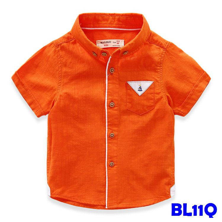 (BL11Q) Shirt - Orange
