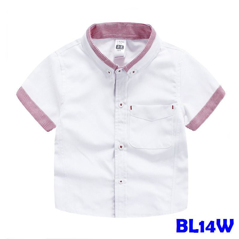 (BL14W) Shirt - White