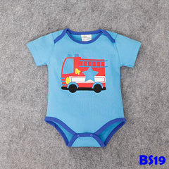 (BS19) Romper - Fire Engine