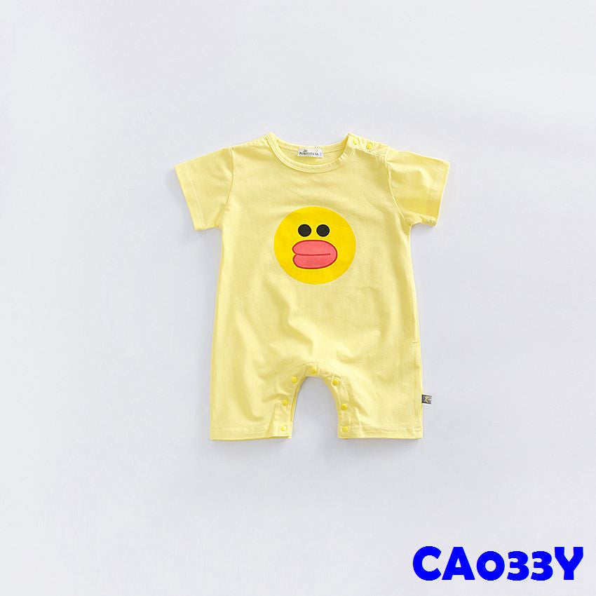 (CA033Y) Rompers - Sally Yellow