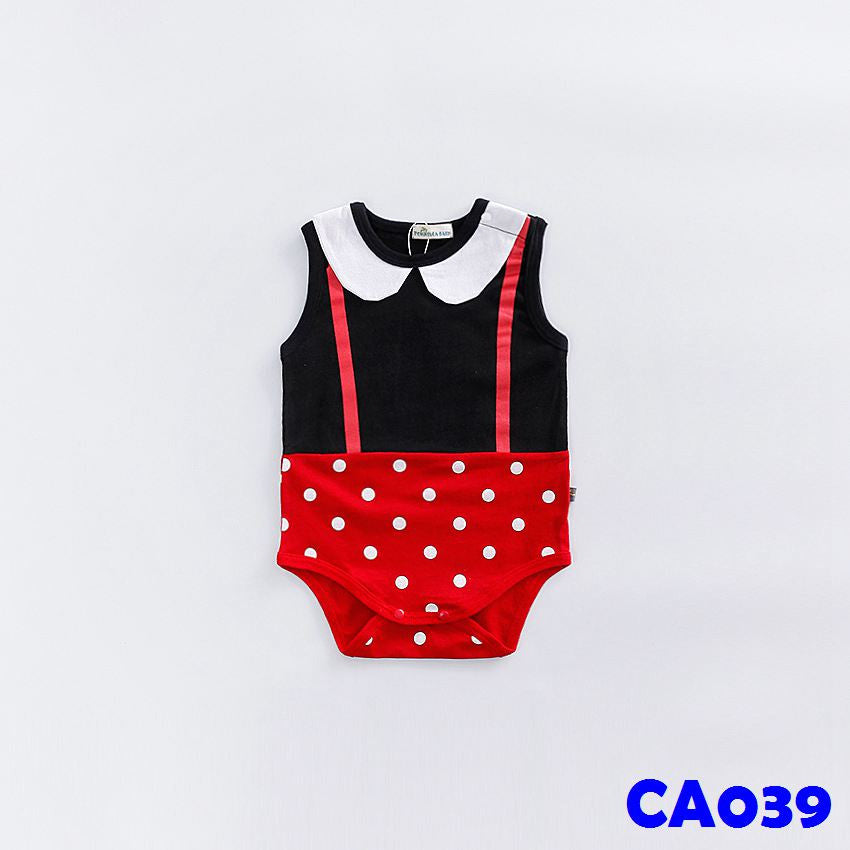 (CA039) Romper - Sleeveless Minnie