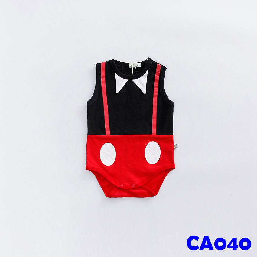 (CA040) Romper - Sleeveless Mickey