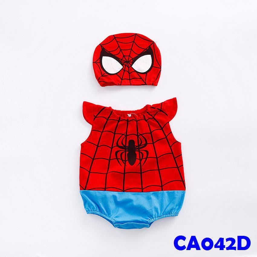 (CA042D) Romper - Spiderman
