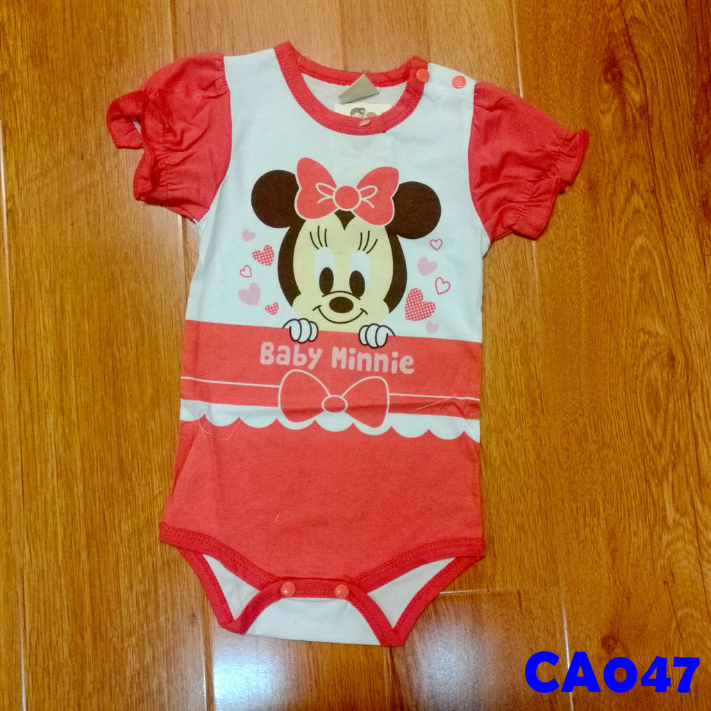 (CA047) Romper - Minnie