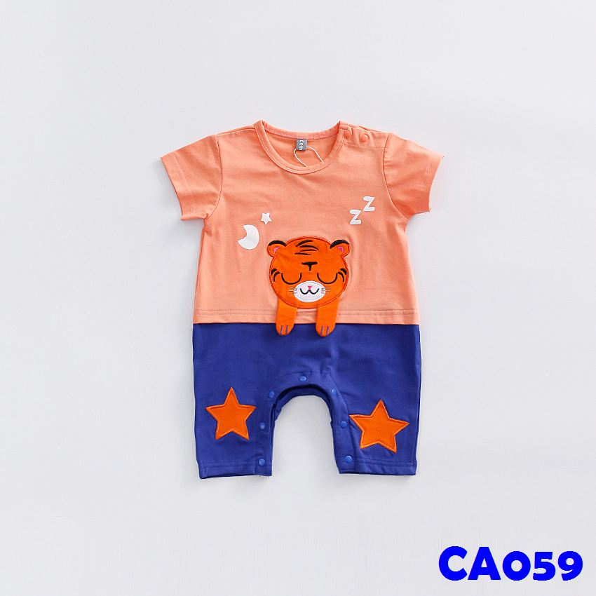 (CA059) Romper - Little Tiger
