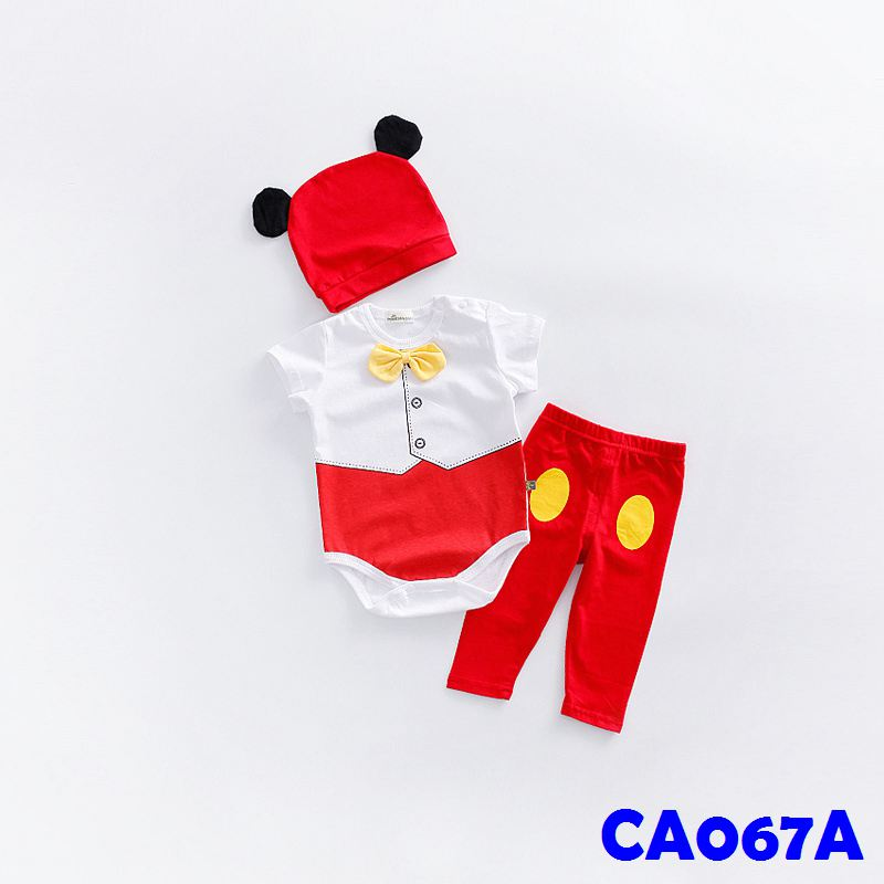 (CA067A) Romper set - Mickey