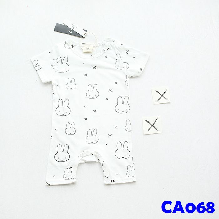 (CA068) Romper - Rabbit