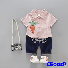 (CE003P) Set - Carrot Pink