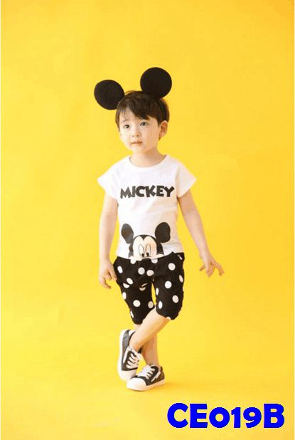 (CE019B) Set - Mickey Black