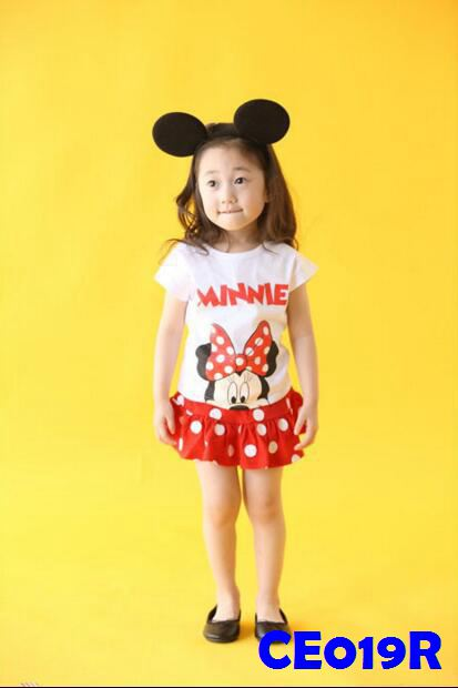 (CE019R) Set - Minnie Red