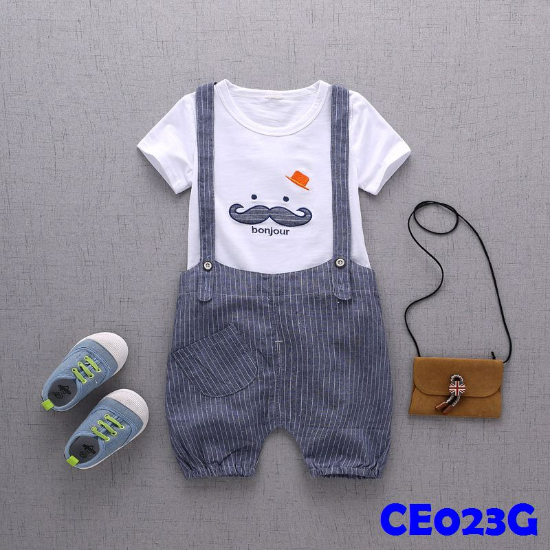 (CE023G) Set - Moustache Grey