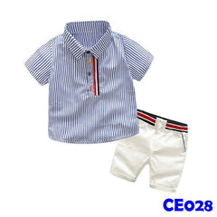 (CE028) Set - Blue Stripe