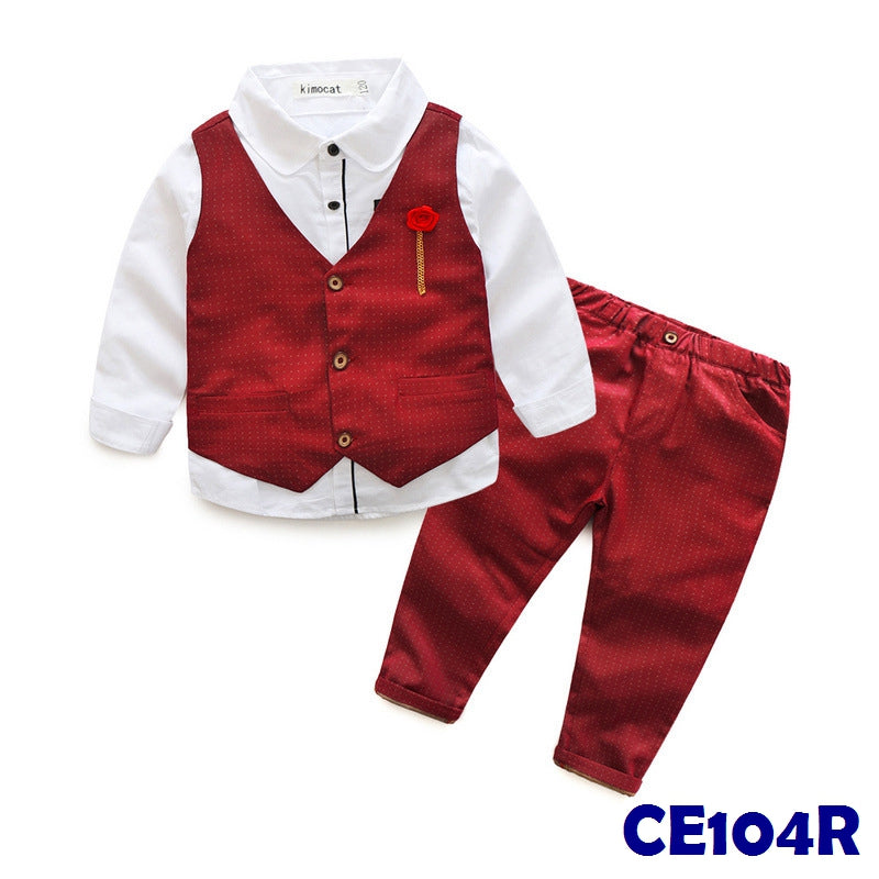 (CE104R) Set - Red Vest