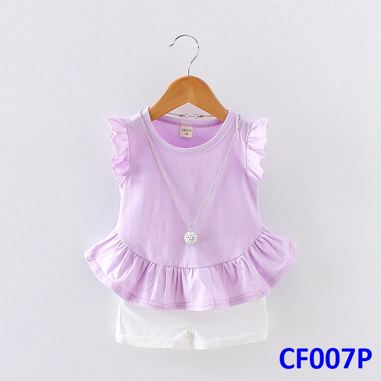 (CF007P) Girl Set - Purple
