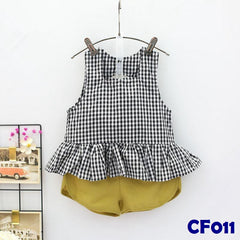 (CF011) Set - Black and Yellow