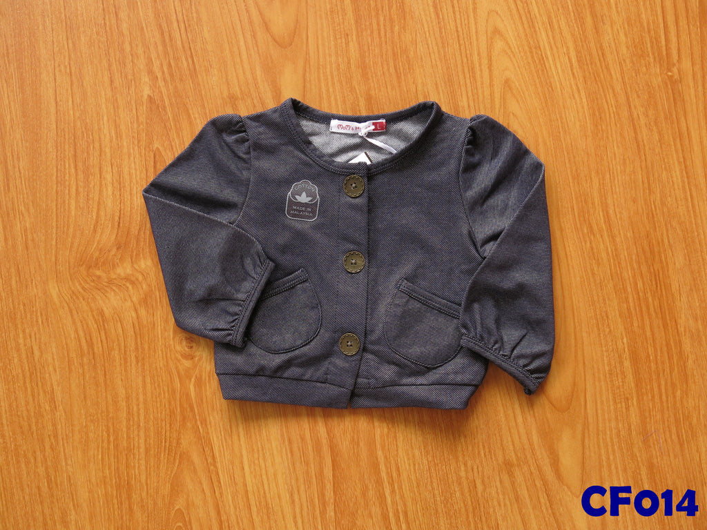 (CF014) Girl Jacket - Denim