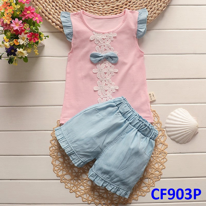 (CF903P) Set - Ribbon Pink