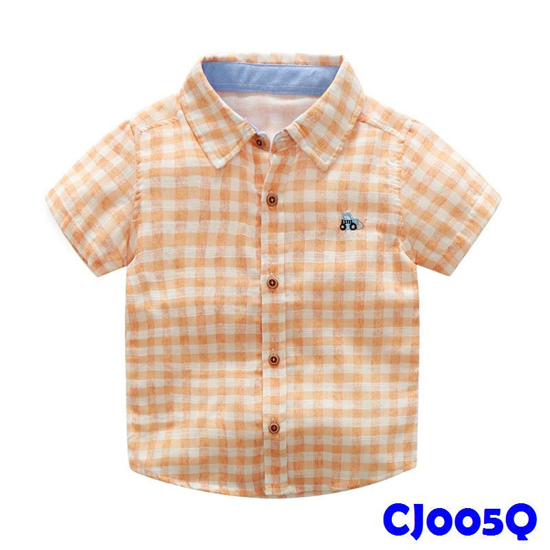 (CJ005Q) Shirt - Orange