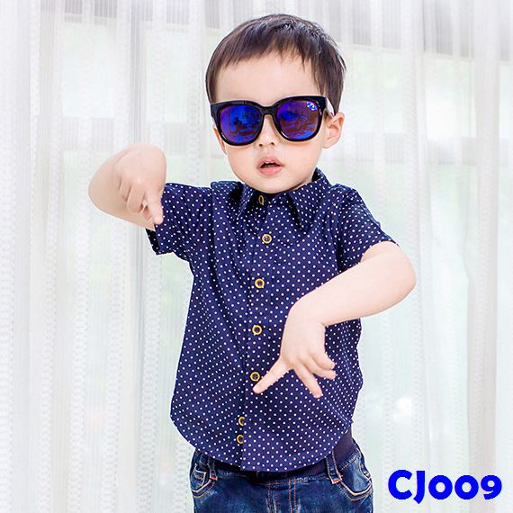 (CJ009) Shirt - Dark Blue