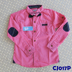 (CJ017P) Shirt - Long Sleeve Pink