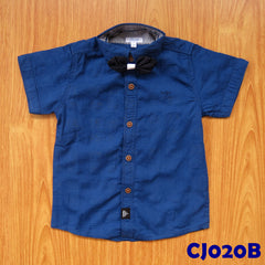 (CJ020B) Shirt - Blue