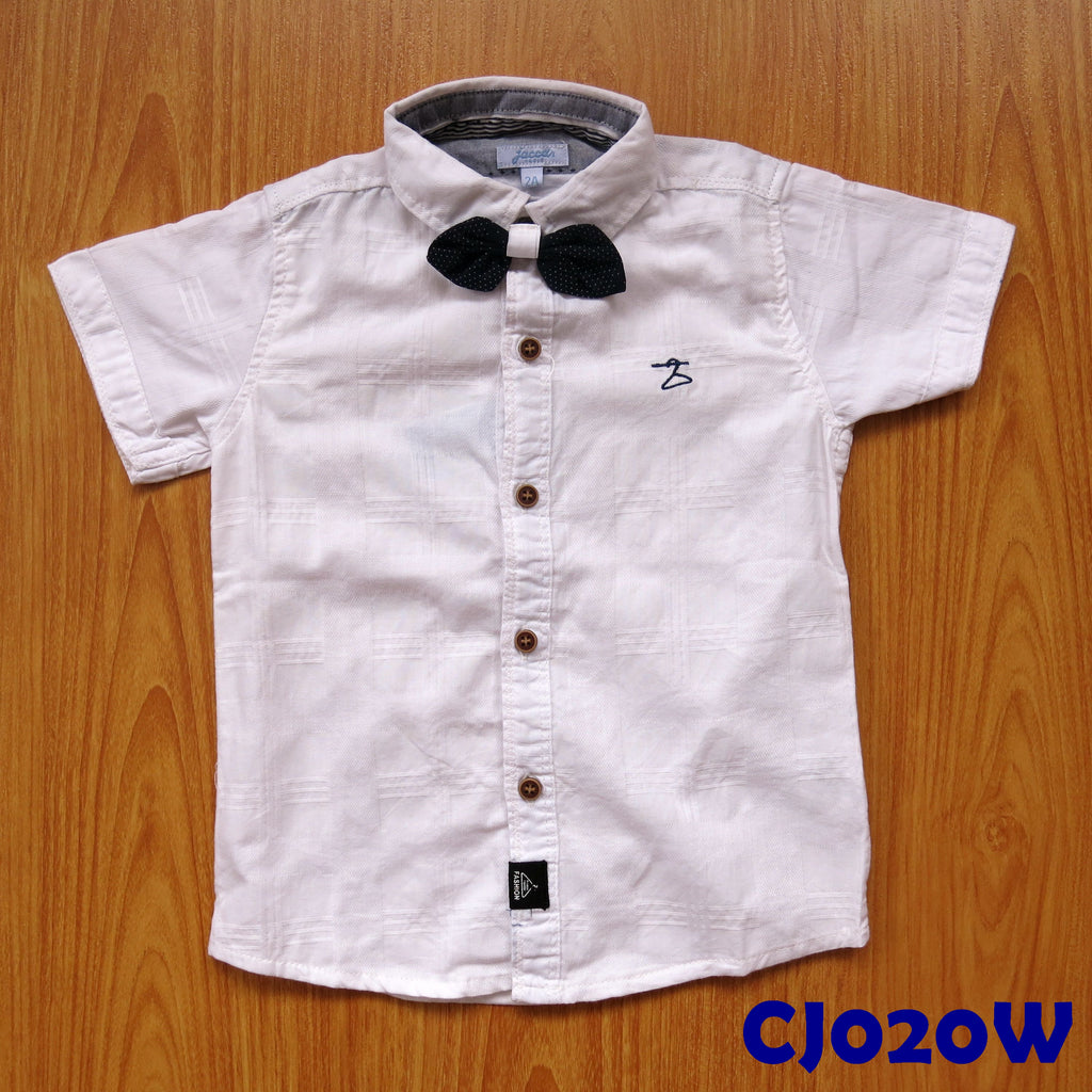 (CJ020W) Shirt - White