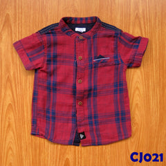 (CJ021) Shirt - Boxed Red