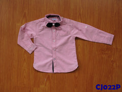 (CJ022P) Long Sleeve Shirt - Pink