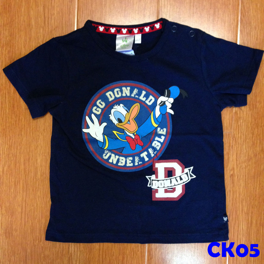(CK05) T-shirt - Donald Duck Blue