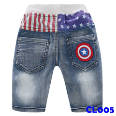 (CL005) Short Jeans - Star
