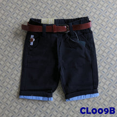 (CL009B) Pants - Dark Blue
