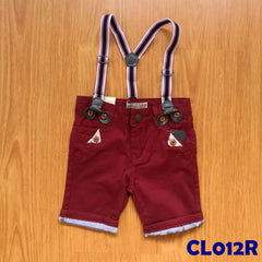 (CL012R) Pants - Red