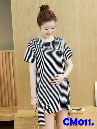 (CM011) Maternity wear - Stripes