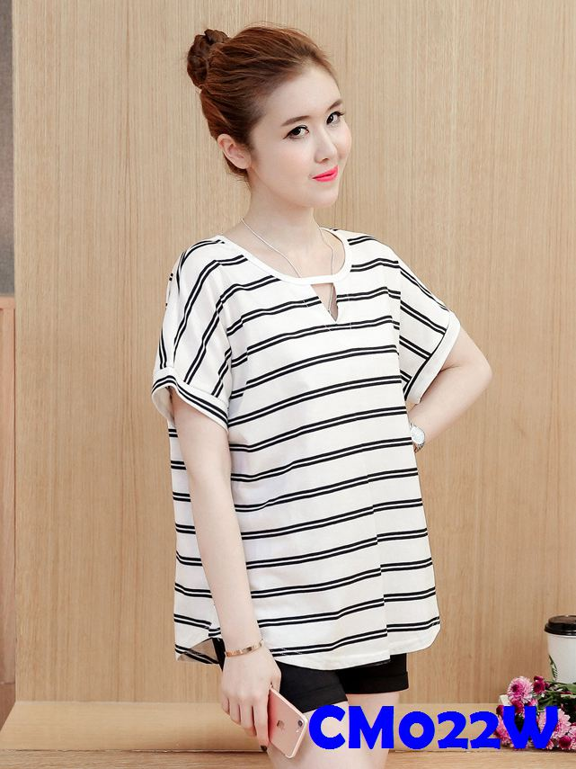 (CM022W) Maternity T-shirt - White