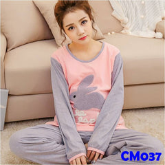 (CM037) Maternity Dress - Rabbit Pyjamas