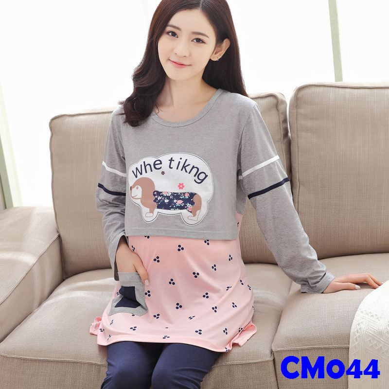 (CM044) Maternity Dress - Leisure Wear