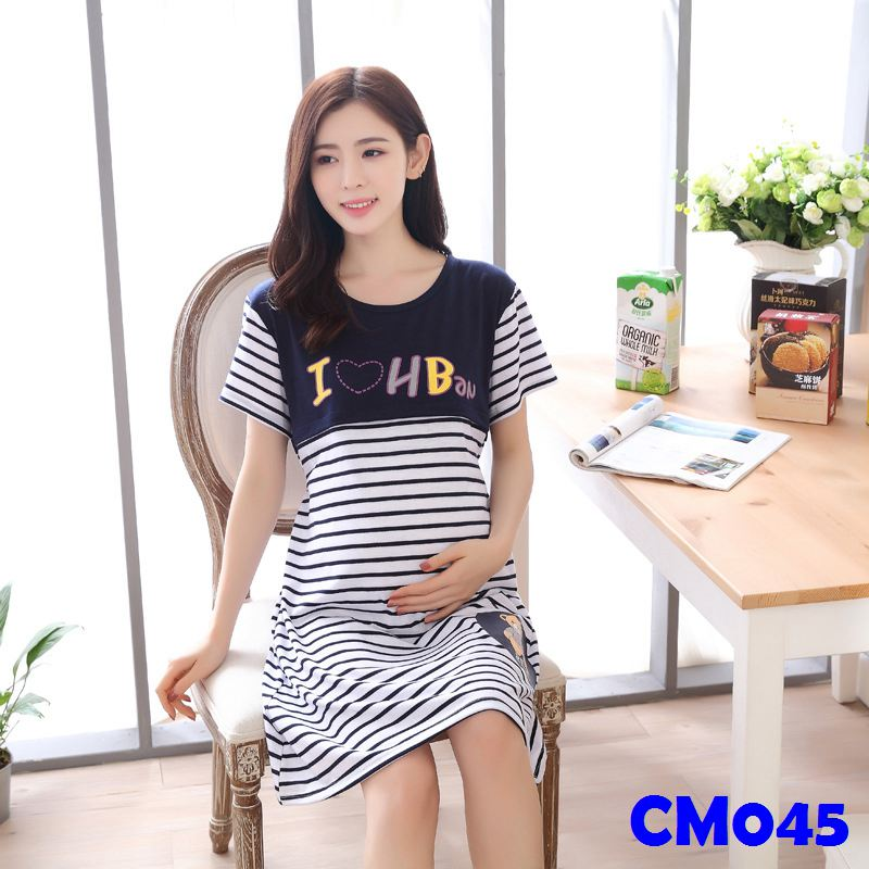 (CM045) Maternity Dress - Leisure Wear