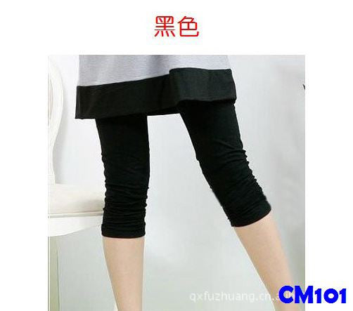 (CM101B) Leggings - Black