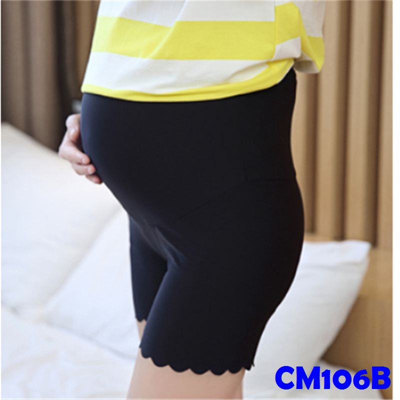 (CM106B) Maternity Pants - Black