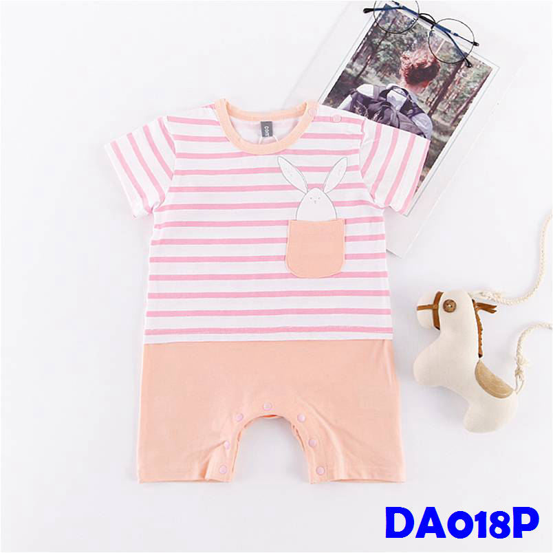 (DA018P) Baby Boy Romper - Rabbit