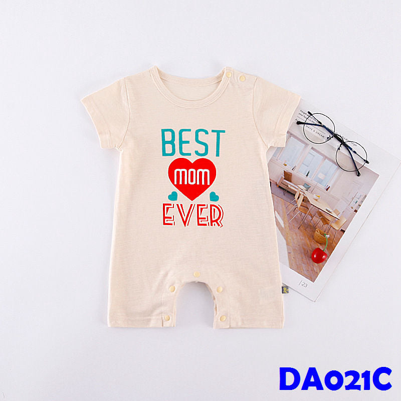 (DA021C) Baby Rompers - Best Mom Ever