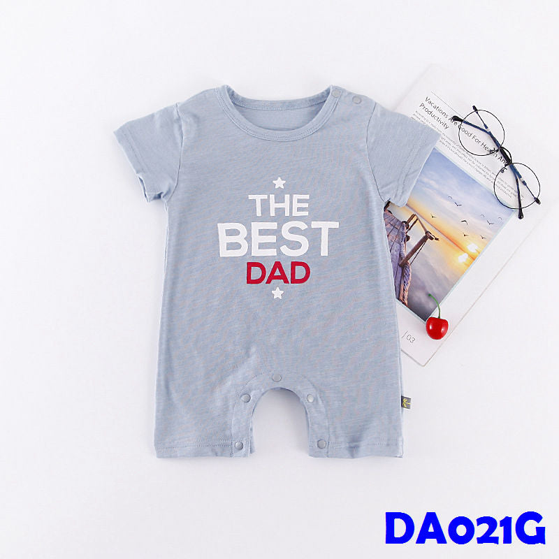 (DA021G) Baby Rompers - The best dad