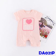 (DA021P) Baby Rompers - I love mom