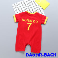 (DA031R) Baby romper - Football Portugal