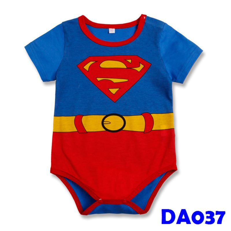 (DA037) Baby Rompers - Superman