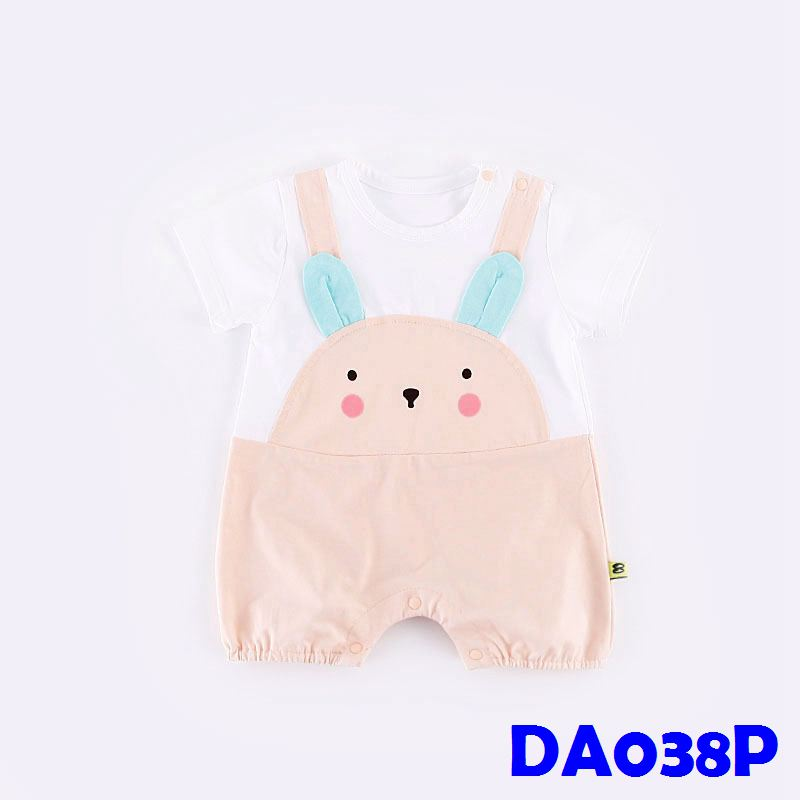 (DA038P) Baby Rompers - Little Mouse (Pink)